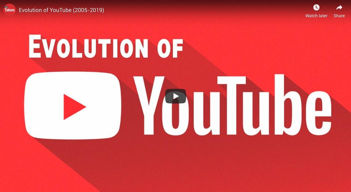 Evolución de YouTube - Publicidad en México
